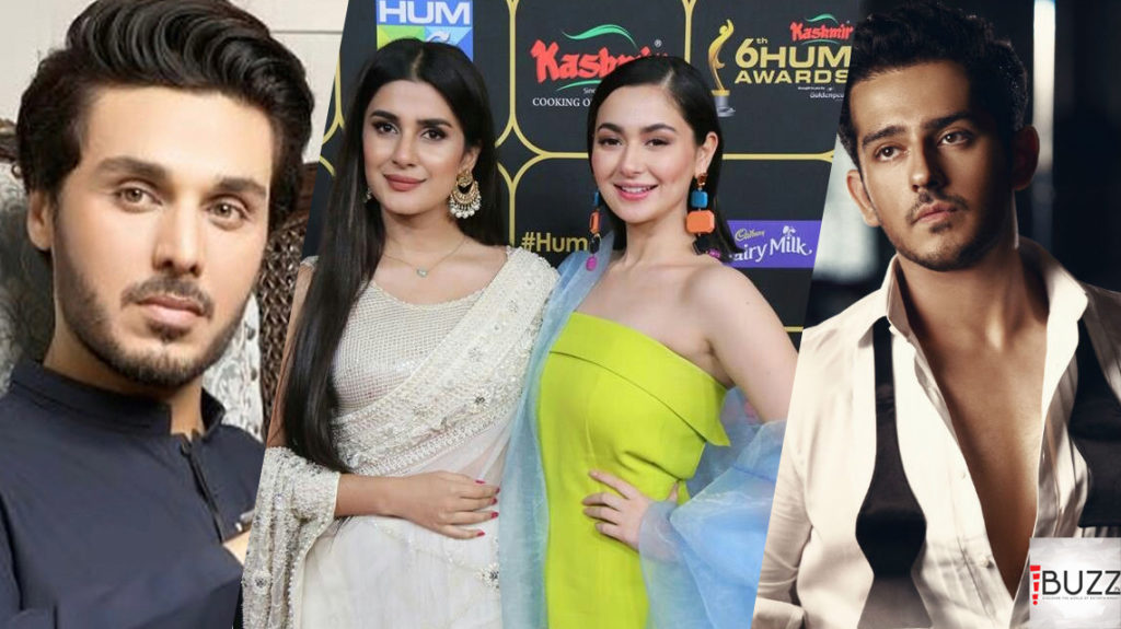 Ahsan Khan, Kubra Khan and Hania Amir to star in Patakh Dey