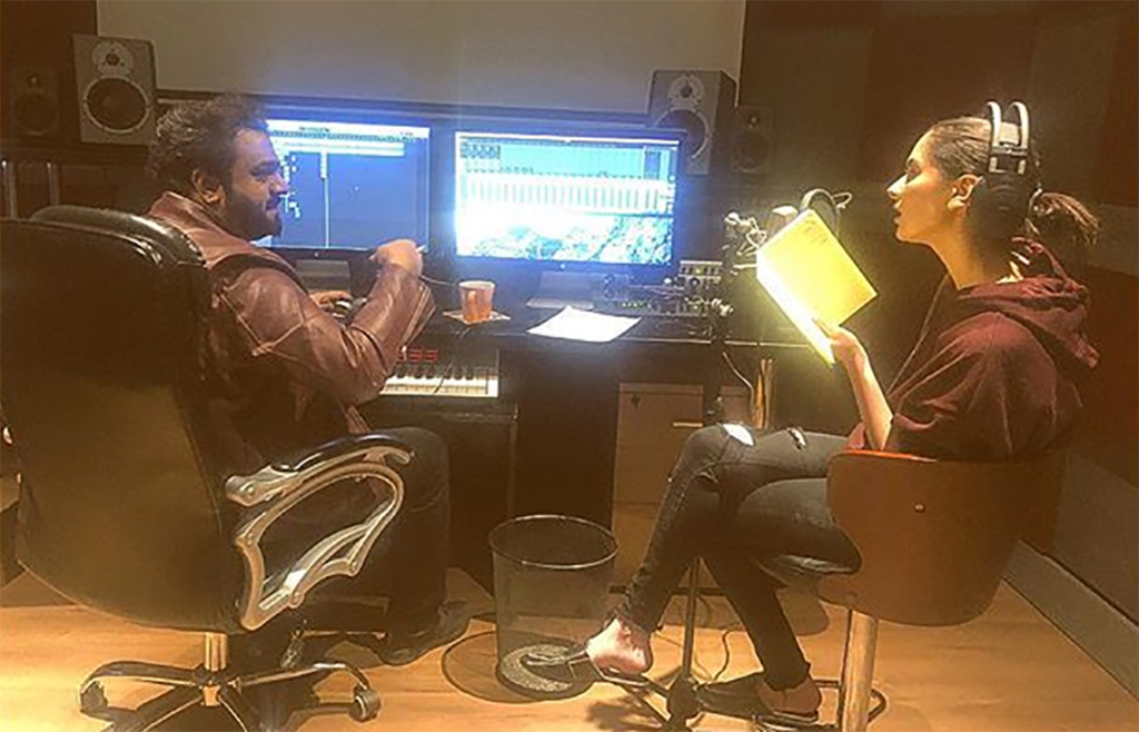 Hania Amir joins Sahir Ali Bagga for Anaa OST