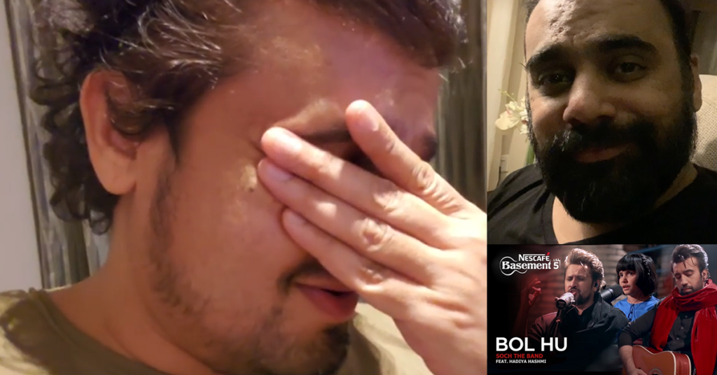 Sonu Nigam reacts to Bol Hu, Xufi records a Thank You note